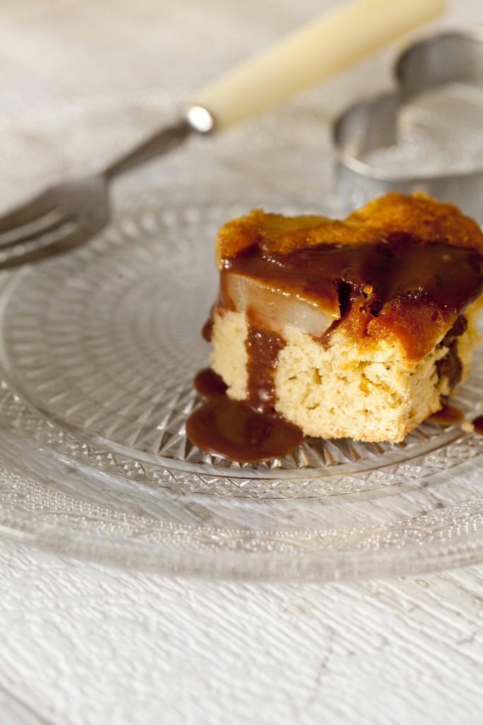 Biscuit poires amandes caramel gingembre coulis de chocolat au Grand-Marnier 31