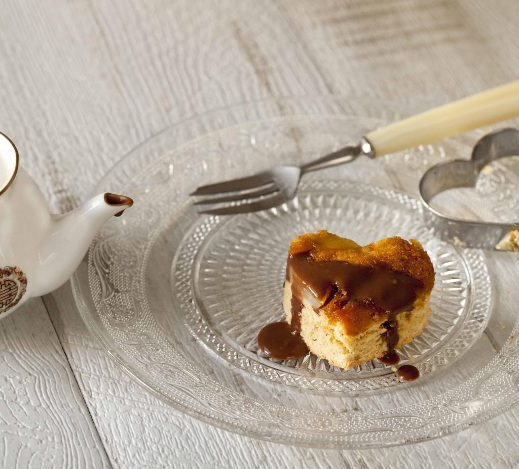 Biscuit poires amandes caramel gingembre coulis de chocolat au Grand-Marnier 51