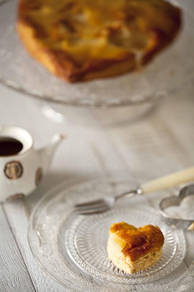 Biscuit poires amandes caramel gingembre coulis de chocolat au Grand-Marnier 81