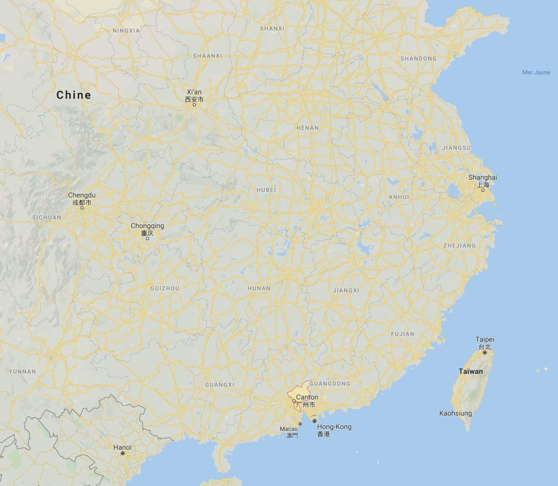 Canton et sa région le Guangdong