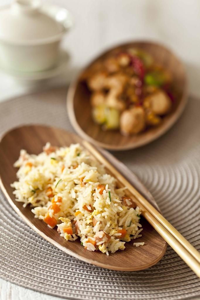 Ma recette de riz frit à la cantonaise, le riz cantonais