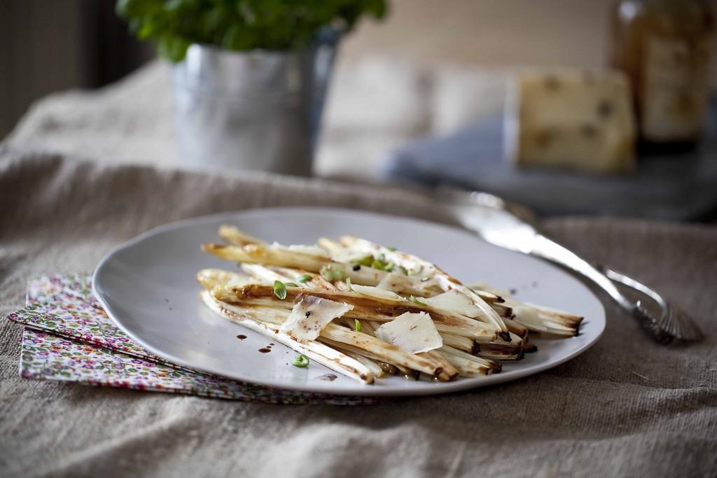 Asperges confites en salade printanière 31