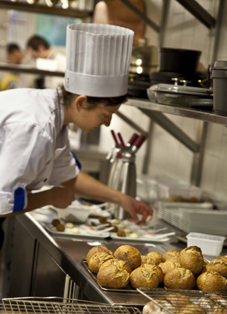 Relais Bernard Loiseau Cuisine Amuse-bouche @Anne Demay 21