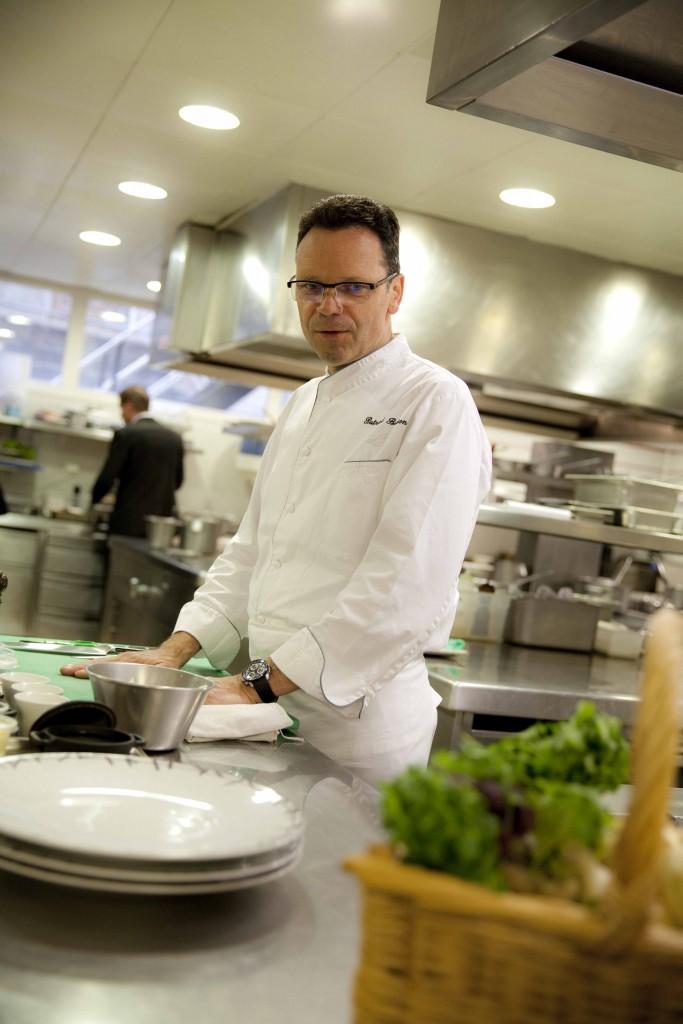 Relais Bernard Loiseau Cuisine Patrick Bertron Atelier Début @Anne Demay 1