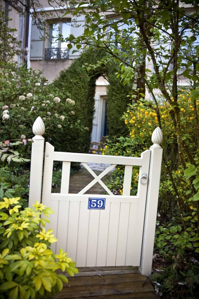 Relais Bernard Loiseau Jardin Portiques chambre 59 @Anne Demay 1