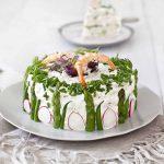 Sandwich cake aux crevettes la recette