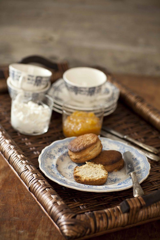 Recette des scones à la farine de kamut et au miel de tilleul