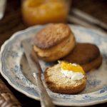 recette de scones à la farine de kamut et au miel