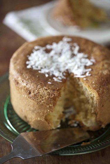 Ma recette de gâteau à la noix de coco et à l'ananas tout léger