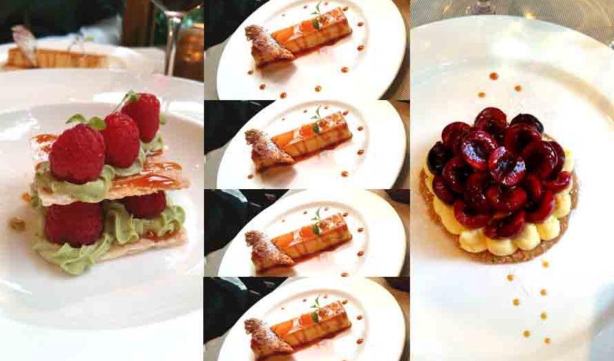 Le Pario Eduardo Jacinto desserts