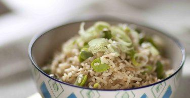 riz basmati au cumin et aux fèves recette