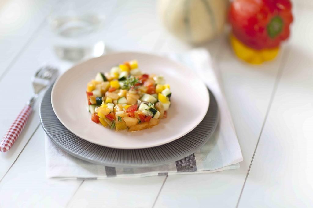 Salade de melon au piment 1c