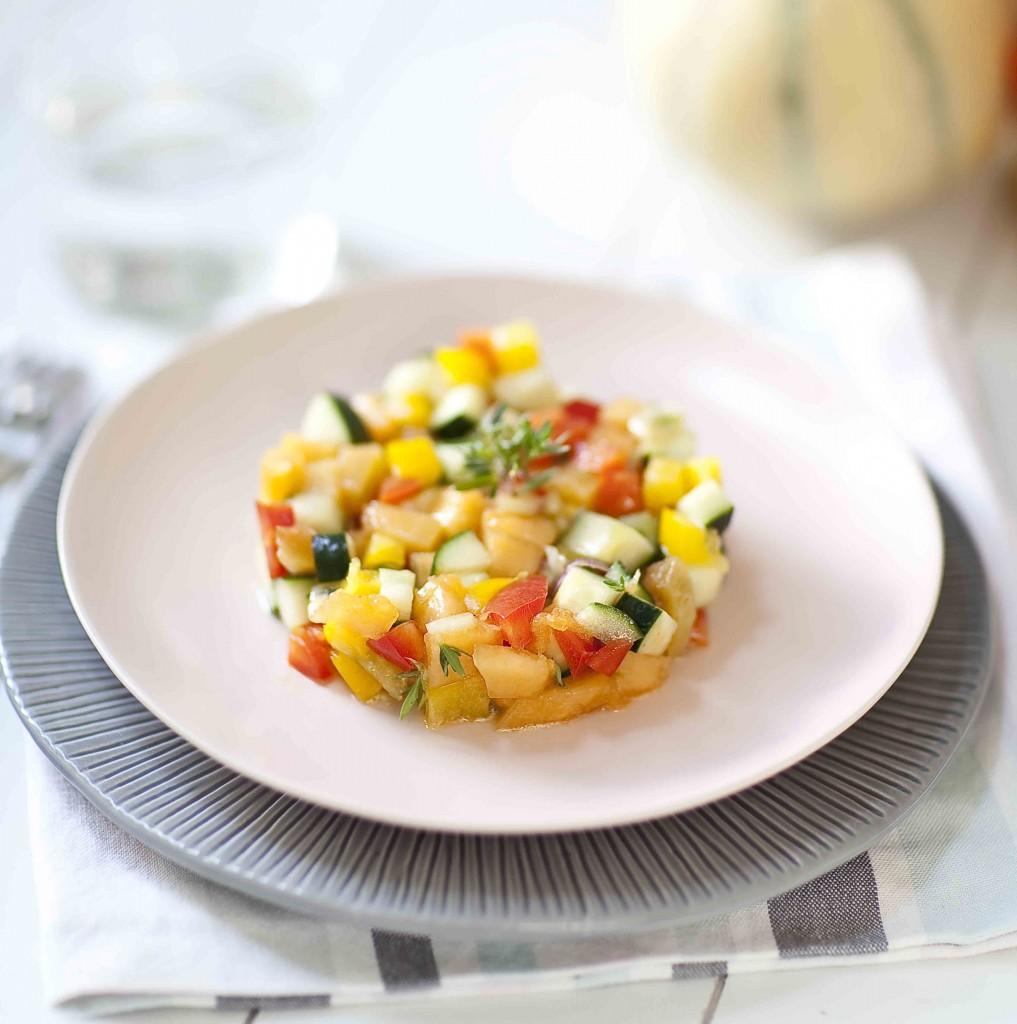 Salade de melon au piment 3c