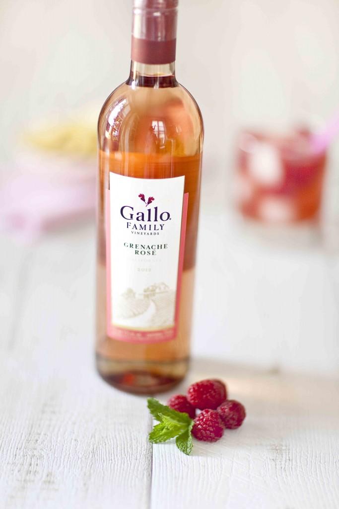 Vin Grenache rosé Gallo 1c