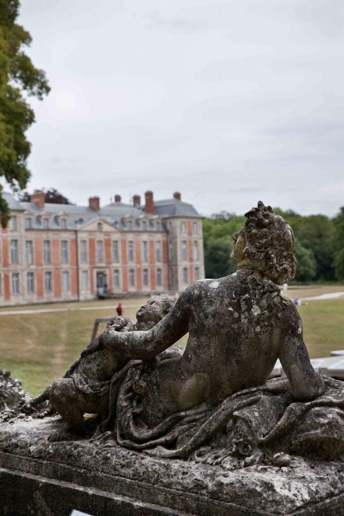 Domaine de Chamarande le Parc et le château c