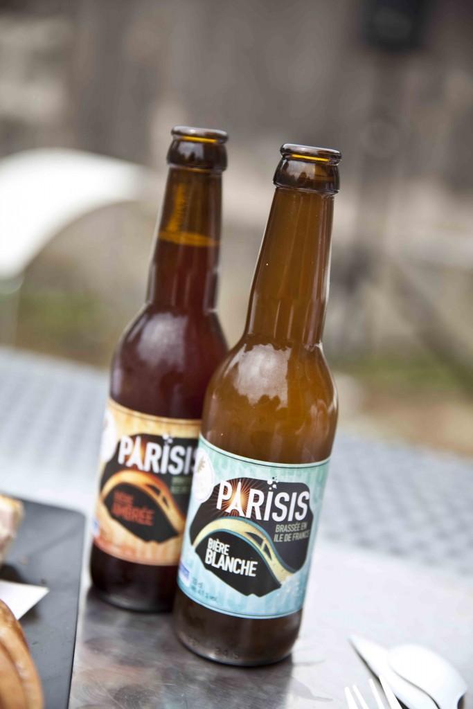 La Cuisine Moblie du Domaine de Chamarande La bière essonnienne par excellence: Parisis. l'ambrée et la blanche