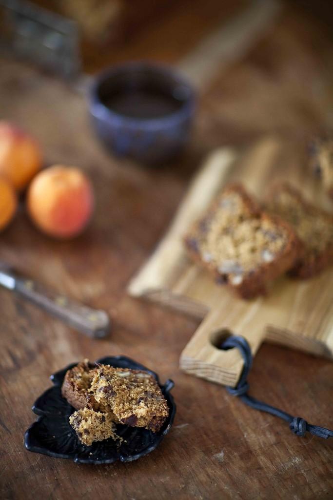 Quatre-quart noix de pécan chocolat 4c