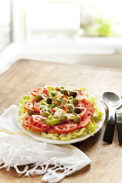 Salade grecque la recette traditionnelle