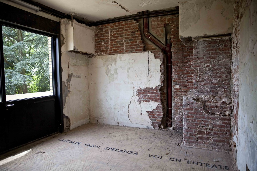 Villa Cavrois  chambre témoin avant restauration