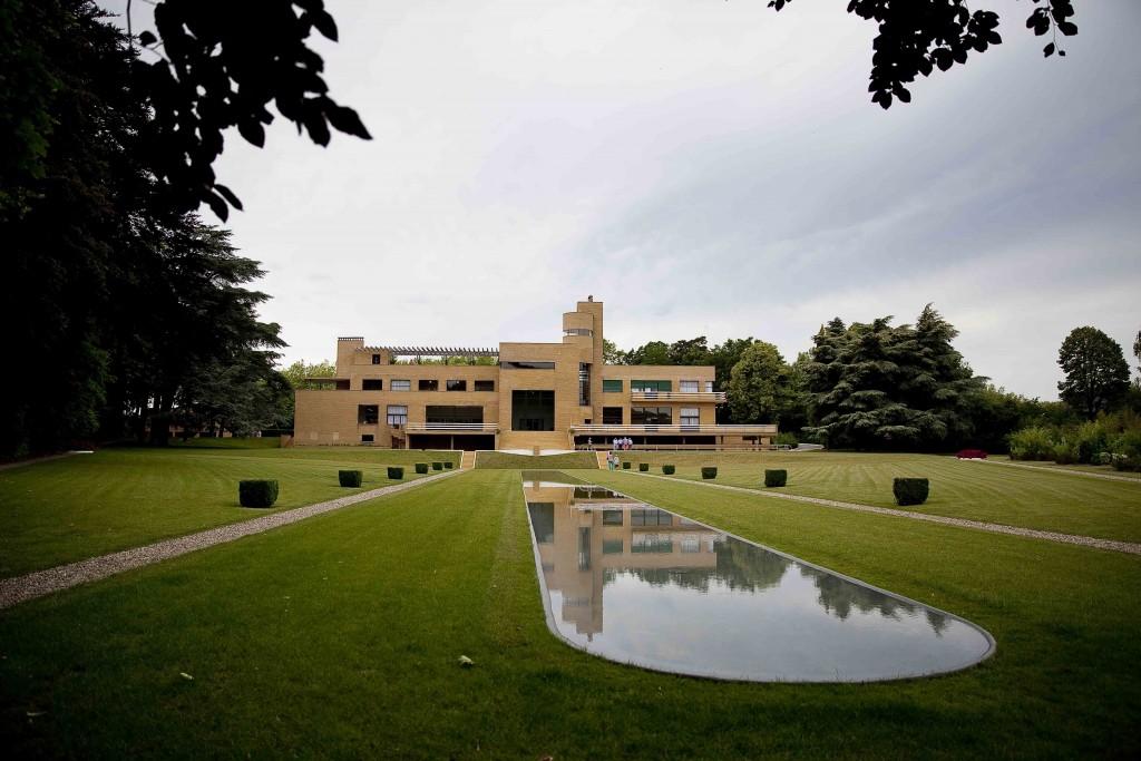 Villa Cavrois Jardins et plan d'eau c