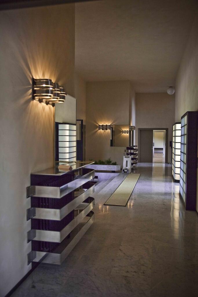 Villa Cavrois côté hall d'entrée