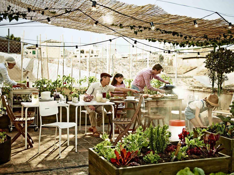 Ikea à l'italienne pour série de tables et dessertes Vaddo et Grundtal