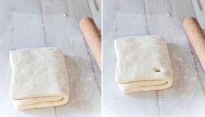 Comment réaliser une pâte feuilletée levée, le pliage