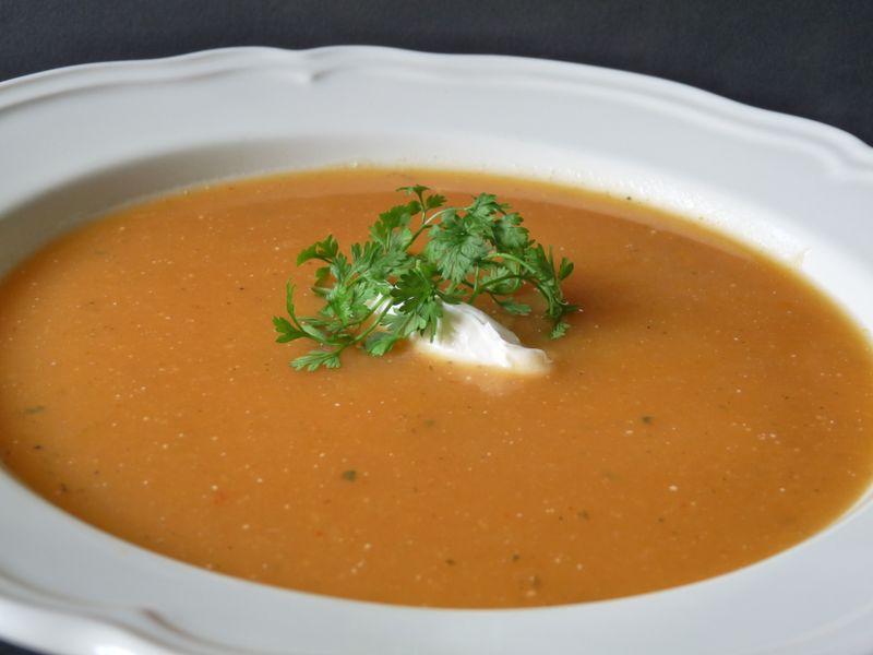 Potage musqu e de provence la tomate pour les 3 4 de la france nord panier de saison - Potage a la tomate maison ...