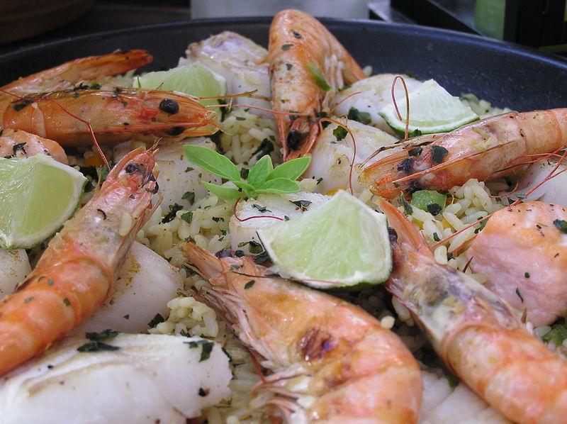 Riz au poisson et aux épices