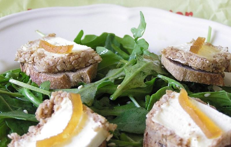 Salade de Machecoulais au gingembre confit