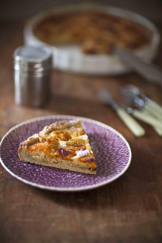 Tarte aux abricots et aux amandes 1c