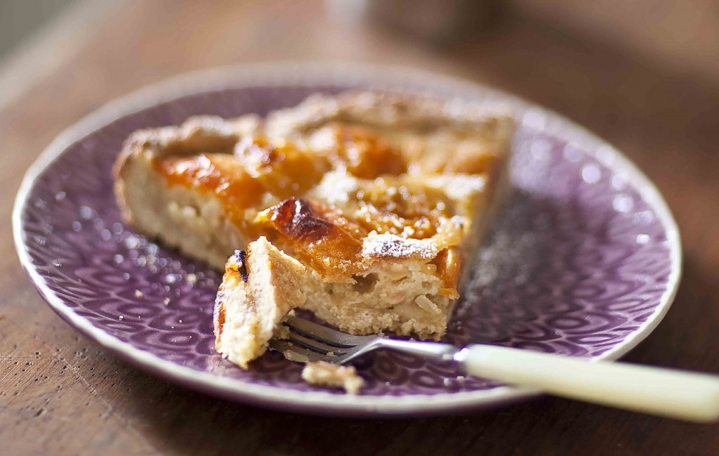 Tarte aux abricots et aux amandes 2c
