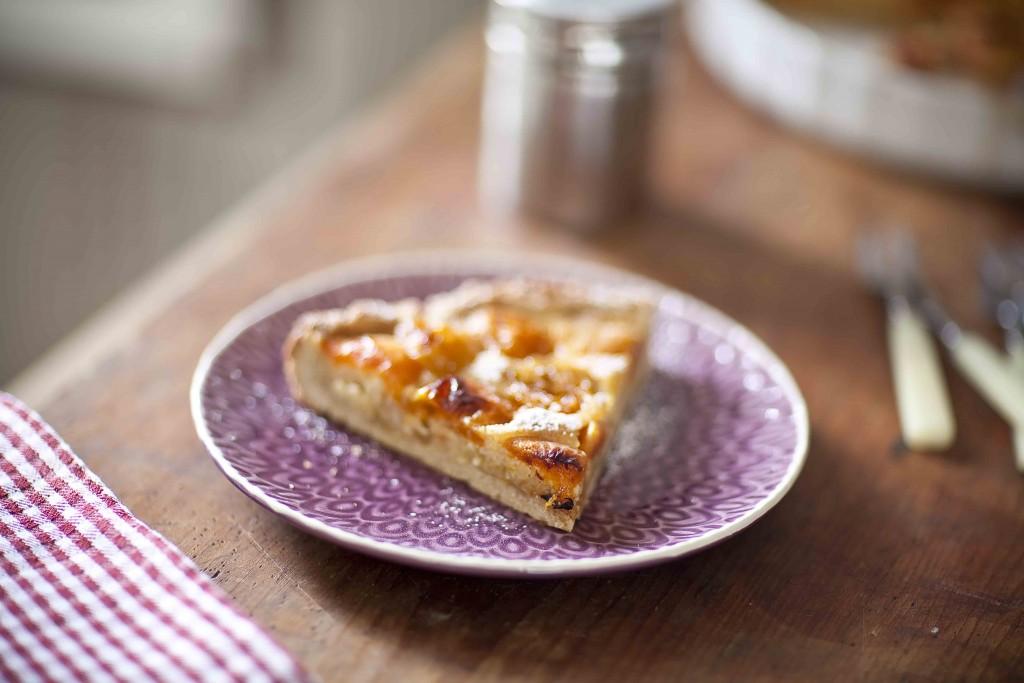 Tarte aux abricots et aux amandes 3c