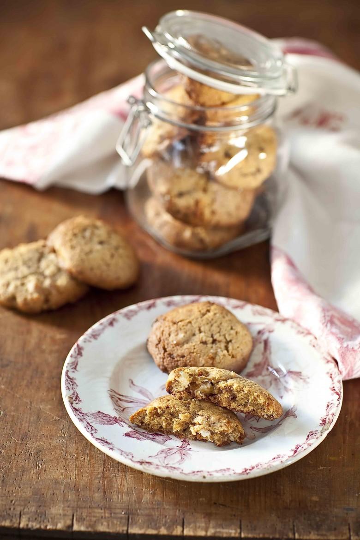 Cookies au Nougat de Montélimar, abricots secs de Corse et Vergeoise 1c