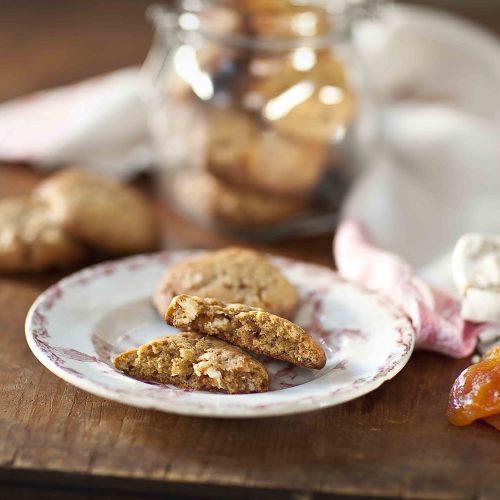 Ma recette de cookies au nougat et à l'abricot séché