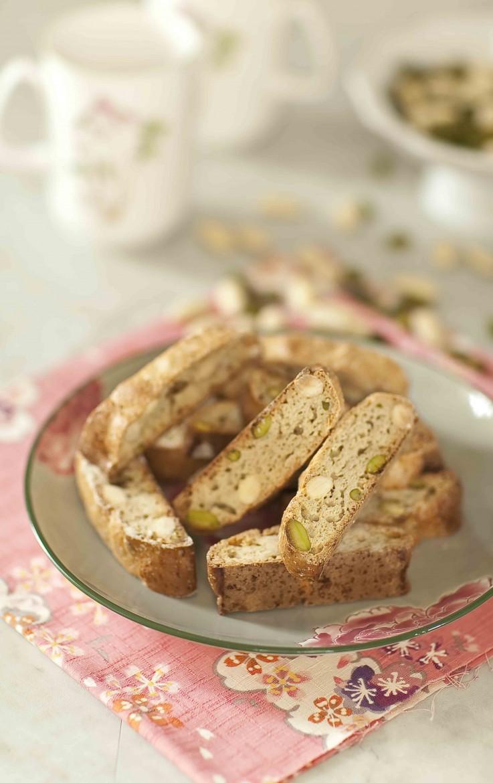 Croquants aux amandes et aux pistaches 1 c