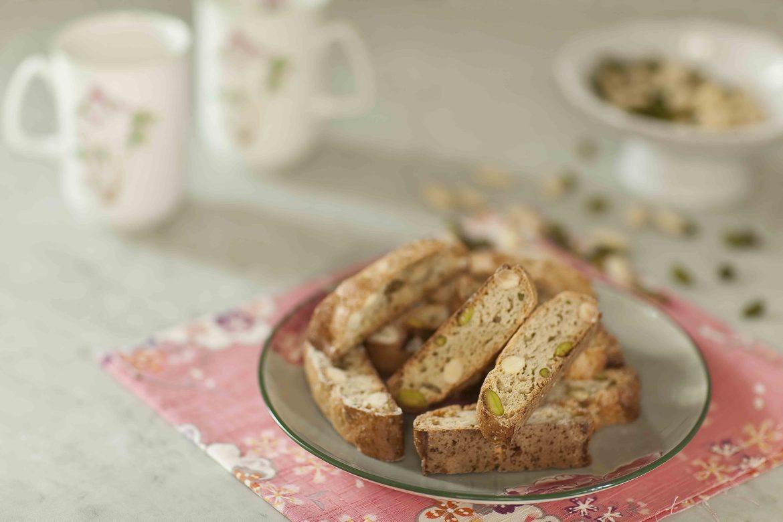 Croquants aux amandes et aux pistaches 3 c