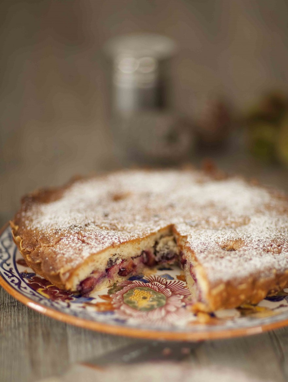 Gâteau tarte aux prunes et aux amandes 1c