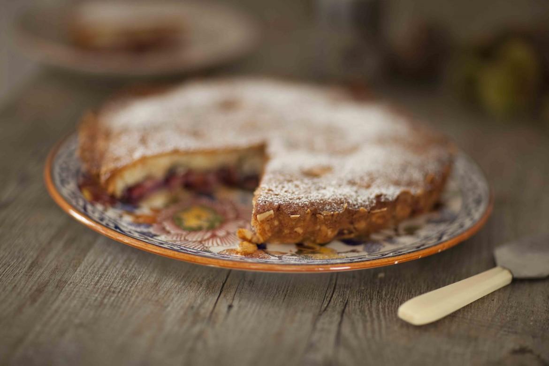 Gâteau tarte aux prunes et aux amandes 2c