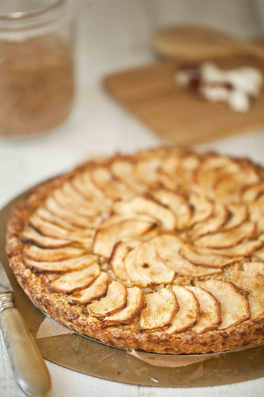 Tarte aux pommes Reinettes de Normandie et à la noix de coco 1c