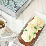 Recette de cake fleuri aux fruits confits jaunes et verts