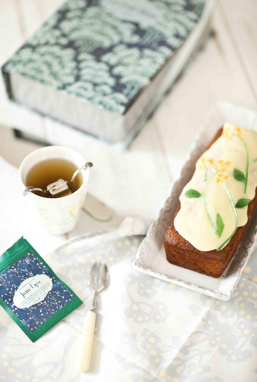 Cake farine complète et fruits confits Tea BoxXFarraow&ball 2c