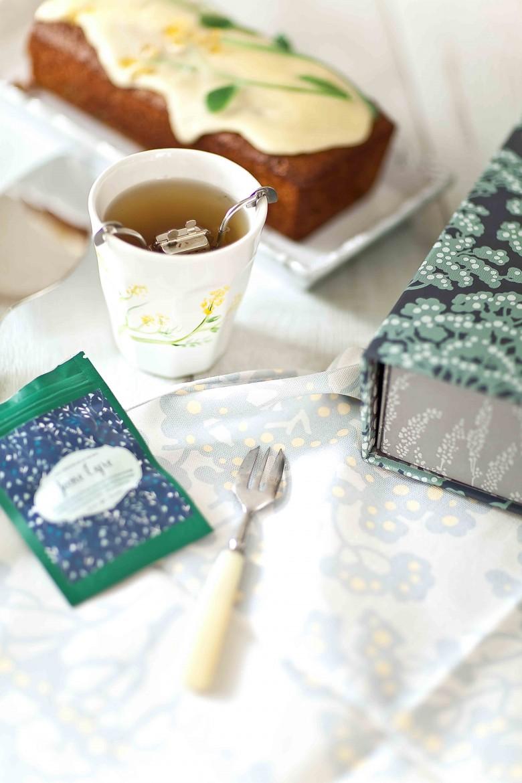 Cake farine complète et fruits confits Tea BoxXFarraow&ball 3c