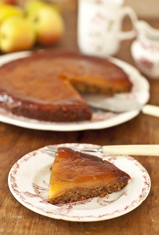 Gâteau tatin aux pommes fondantes et amandin 3c