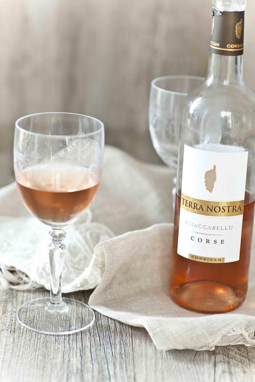 Rosé Terra Nostra cépage 100% Sciaccarellu 2