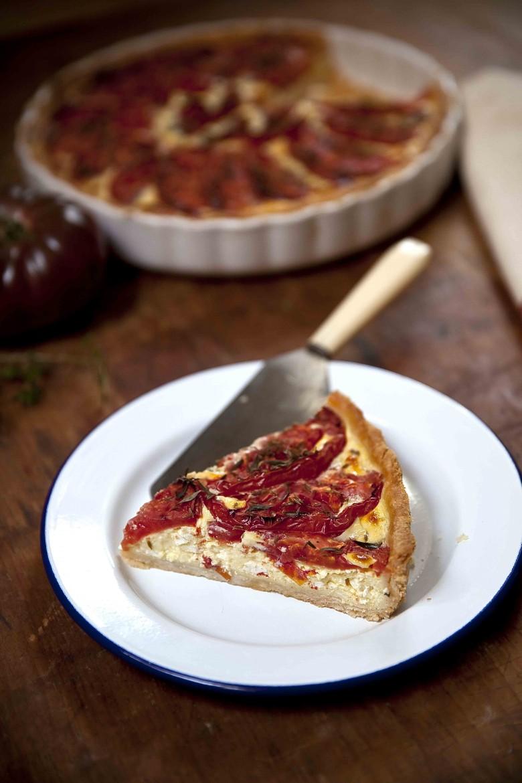 Tarte aux tomates c ur de boeuf une derni re avant l - Comment cuisiner le coeur de boeuf en tranche ...