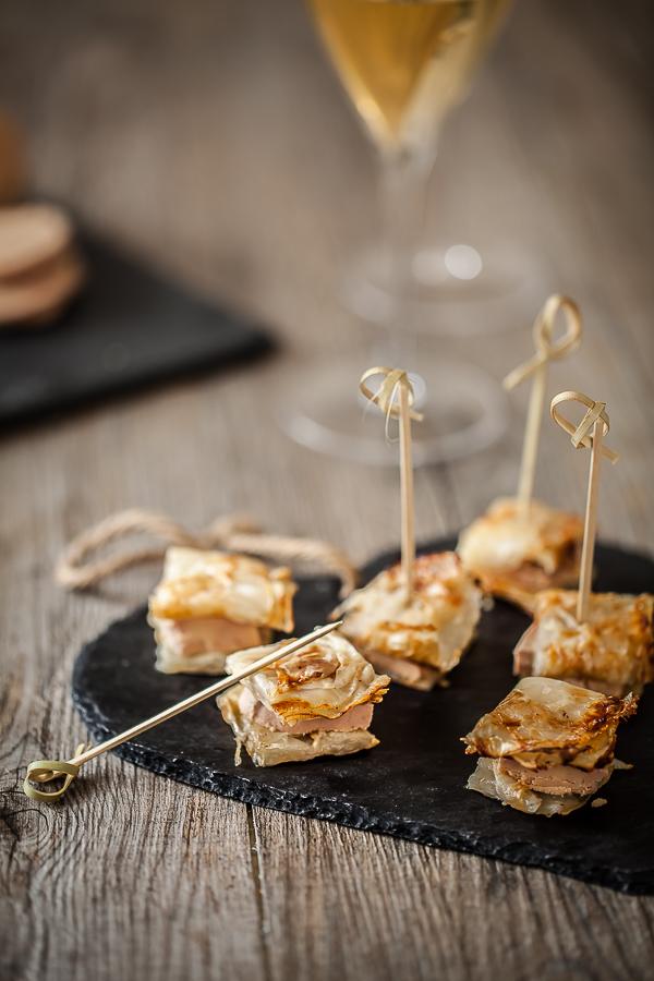 Millefeuille de céleri au foie gras©AnneDemayReverdy
