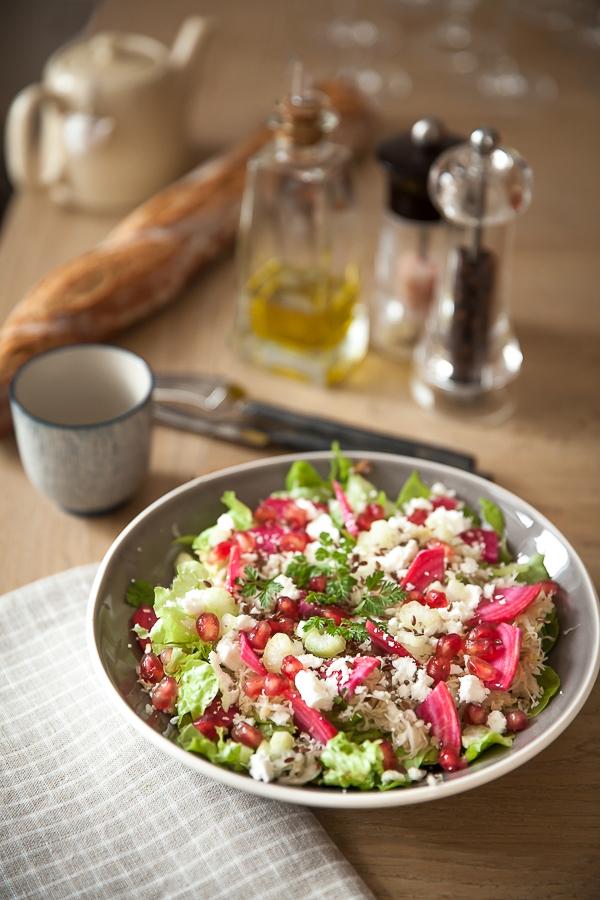 Salade mélangée choucroute crue et feta©AnneDemayReverdy01