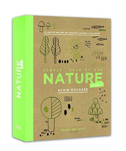 Couverture du livre Nature d'alain Ducasse