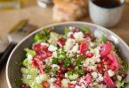 La recette de la salade de choucroute crue à la feta
